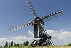 Moulin chez Batenburg Photos libres de droits