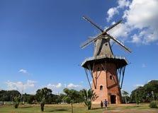 Moulin dans Holambra, Brésil Photos libres de droits