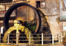 Moulin dans la rue Augustine Images libres de droits