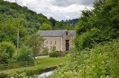 Moulin de belvédère et Tamise et Severn Canal images libres de droits