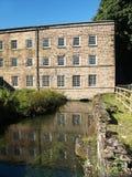 Moulin 1 de Cromford Photographie stock libre de droits
