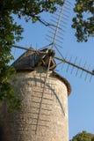 Moulin de Domme Molino de viento viejo en Domme, valle de Dordo?a aquitaine fotos de archivo libres de regalías