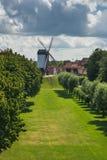 Moulin de Koelewei, Bruges Image stock