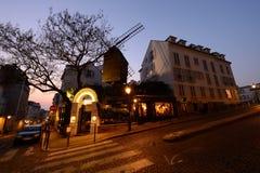 Moulin de la Galette chez Montmartre ? Paris photographie stock