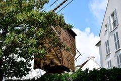 Moulin de la Galette Montmartre, Parigi, Francia immagini stock