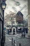 Moulin de la Galette in Montmartre, Paris, France Royalty Free Stock Photo
