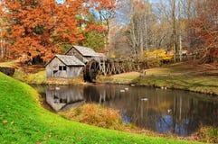 Moulin de Mabry, la Virginie Etats-Unis photo stock