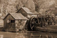 Moulin de Mabry, la Virginie, Etats-Unis image stock