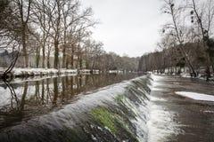 Moulin de Malval Крёз Стоковое Изображение RF