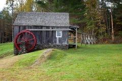 Moulin de roue d'eau Images libres de droits