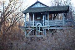 Moulin de scie et de blé à moudre Photo libre de droits