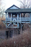 Moulin de scie et de blé à moudre Images libres de droits