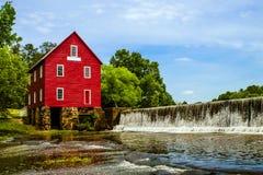 Moulin de Starrs, un site historique près d'Atlanta image stock