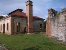 Moulin de sucre Diego Caballero, République Dominicaine de Nigua Photographie stock libre de droits