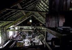 Moulin de textiles abandonné Image stock