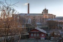 Moulin de tissage 1758 d'année Photo libre de droits