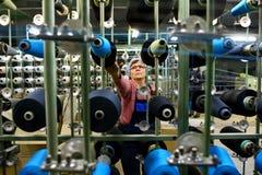 Moulin de tissage en Russie Images stock