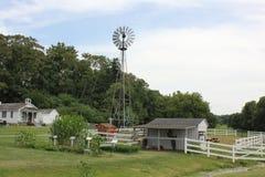 Moulin de vent à Village amish Photographie stock libre de droits