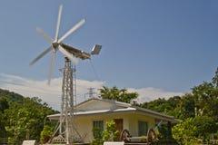 Moulin de vent, Photographie stock libre de droits