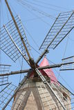 Moulin de vent antique Image libre de droits