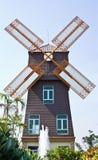 Moulin de vent de type du Danemark Image stock