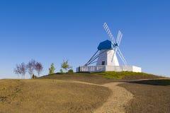 Moulin de vent de vieux type Photo libre de droits