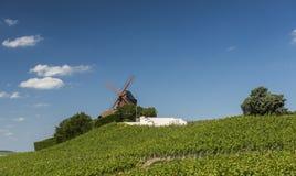 Moulin de Verzenay von Champagne House Mumm Stockfotografie