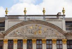 Moulin eine Entlüftungsöffnung im großartigen Platz in Brüssel Lizenzfreie Stockbilder