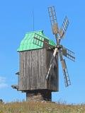 Moulin en bois illustration de vecteur