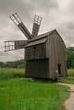 Moulin en bois Photo libre de droits