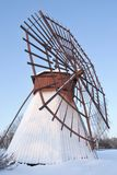 Moulin en bois rare Photographie stock