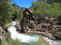Moulin en cristal historique Photo stock