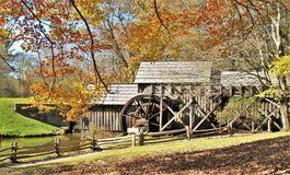 Moulin historique de Mabry photo stock