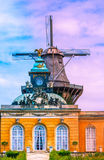 Moulin historique de Sanssouci à Potsdam, Allemagne photographie stock