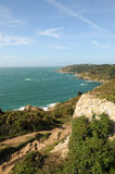 Moulin Huet Bay, Guernsey Royalty Free Stock Images