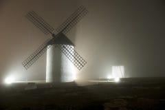 Moulin la nuit Images stock