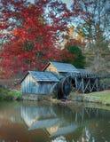 Moulin le comté de Floyd, Va de Mabry Images libres de droits
