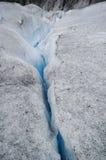 Moulin at Mendenhall Glacier, Juneau, Alaska Royalty Free Stock Photos