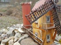 Moulin miniature Photo libre de droits