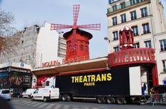moulin Paris szminka Obrazy Stock