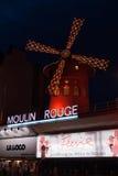 moulin Paris szminka Fotografia Royalty Free