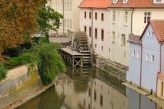 Moulin Prague Photographie stock