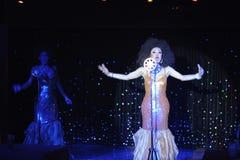 Moulin Rose Phuket Cabaret Show Stock Photos