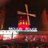 Moulin Rouge Fotografering för Bildbyråer