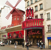 Moulin Rouge Stock Photo