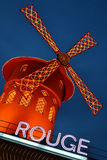 Moulin Rouge Lizenzfreies Stockbild