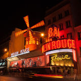 Moulin Rouge Stockfoto