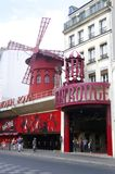 Moulin rouge Royaltyfri Bild