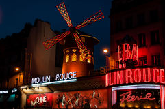 Moulin Rouge Imagenes de archivo