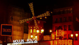 Moulin Rouge lizenzfreie stockbilder